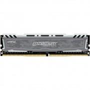 Memória Crucial Ballistix 8GB DDR4 2400Mhz Grey BLS8G4D240FSB OEM