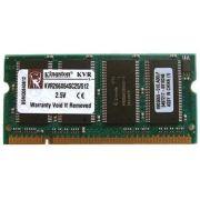 Memória Kingston KVR266X64SC25 512 MB Notebook DDR 266 MHz *