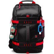 Mochila HP p/ Notebook até 15.6´ Preta e Vermelha - X0R83AA