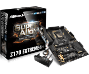 Mother Asrock Z170 EXTREME4 + HDMI/DP/VGA/DVI/USB3.1/SOM/DDR4 LGA 1151
