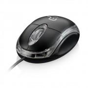 Mouse Classic Box Optico Preto USB (05) *