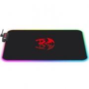 Mousepad Gamer Redragon Pluto, RGB, Control, Grande (330x260mm) -