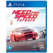 NEED FOR SPEED PAYBACK PS4 .