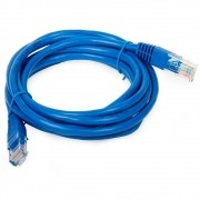 Patch Cord Cat5E 1,5MTs Azul *