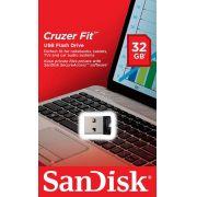 PEN DRIVE 32GB CRUZER FIT Z33 G35 SANDISK