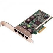 PLACA REDE DELL 5719 QP 1GB LP P/ POWEREDGE 13G/14G