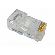 Plug Modular 8x8 RJ45 CAT5E Pacote com 100 pcs - RJ45M