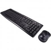 Teclado e Mouse Sem Fio Logitech MK270*