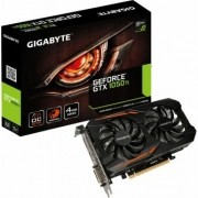 VGA GeForce 4GB GTX 1050Ti OC Windforce 2x Gigabyte  GV-N105TOC-4GD