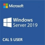WINDOWS SERVER 2019 5 USER CAL CAL COM 5 LIC PARA USER