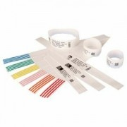 Zebra WRISTBAND, POLYPROP. 1X11IN DT, Z-BAND DIRECT, COATED - 10005008