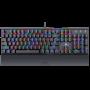 Teclado Mecânico Gamer Redragon Rahu K567-RGB Switch Outemu Black