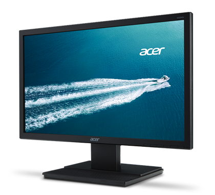"ACER MONITOR V246L LED 24"" WIDE PRETO FULL-HD DVI/VGA/HDMI (VESA)"