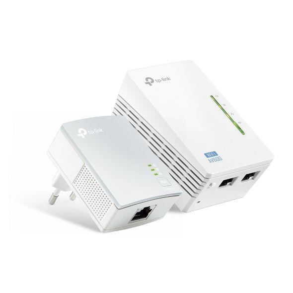 Adaptador Powerline TP-Link TL WPA4220 KIT  WI-FI de 300MBPS