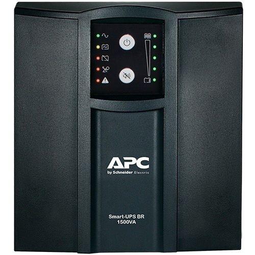 APC NOBREAK Smart-UPS 1500VA/1050W ENTRADA 115/220V / SAIDA 115V - PADRÃO TORRE / LINE INTERACTIVE / SENOIDAL - Compatível com 1 banco SMC24XLSBP-BR