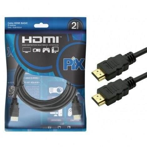 Cabo HDMI Pix Ultra HD 5MT 1.4C 4K 018-0514