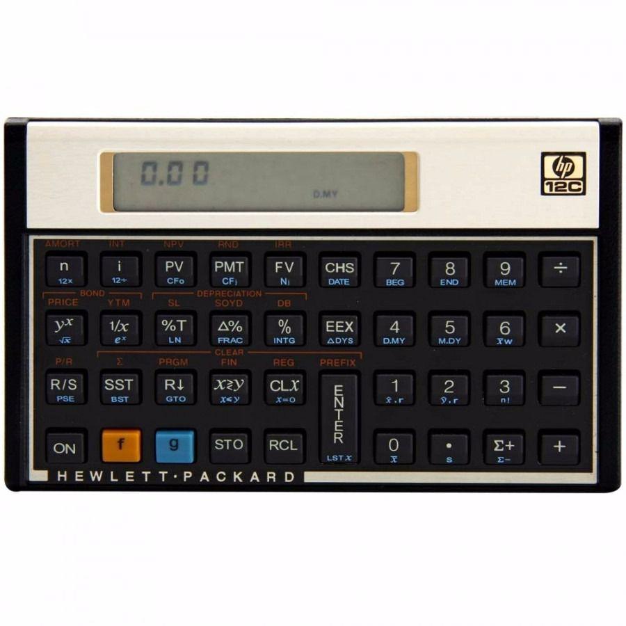CALCULADORA HP FINANC. 12C GOLD - PORTUGUES