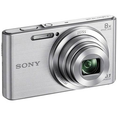 Câmera Digital Sony Cyber Shot W830 20.1MP Zoom Óptico 8x - Prata