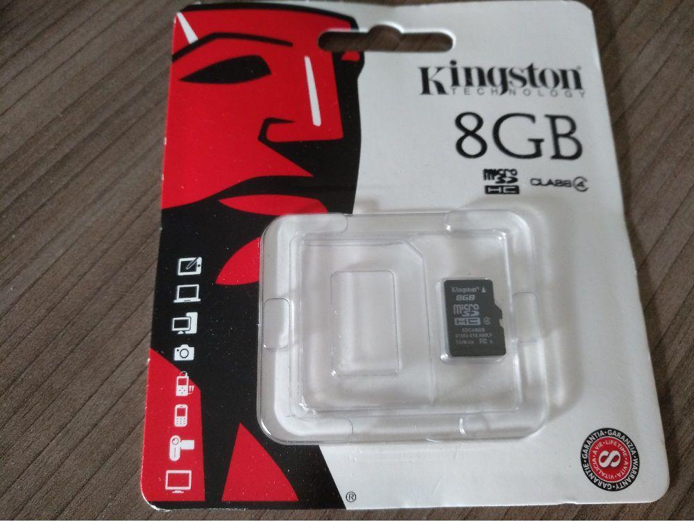 CARTÃO DE 8GB S/ ADAPTADOR