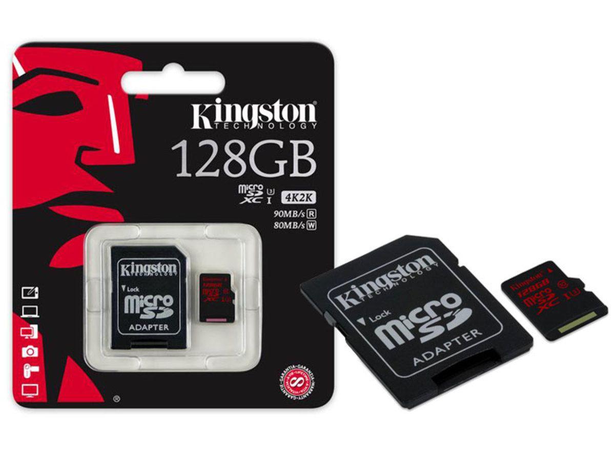 CARTAO MICRO SDHC 128GB SPEED CLASS 3 -SDCA3/128GB