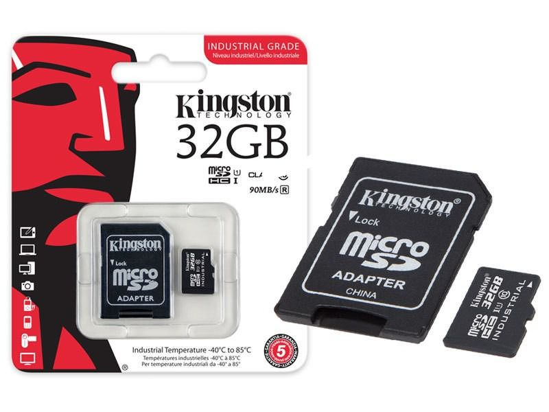 CARTAO MICRO SDHC 8GB CLASS 10 INDUSTRIAL TEMP-SDCIT/8GB