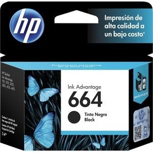 CARTUCHO TINTA HP 664 PRETO - F 6V29AB. - F6V29AB