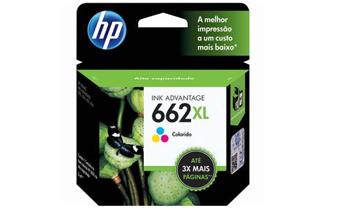 CARTUCHOTINTA HP 662XL COLORIDO - CZ106AB - CZ106AB