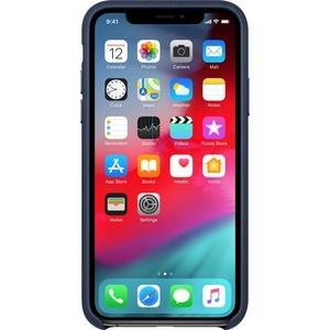 Case Para IPHONE XS LEATHER AZUL MEIA NOITE - MRWN2ZM/A - MRWN2ZM/A
