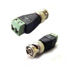 Conector Plug BNC Macho com Borne - Empire