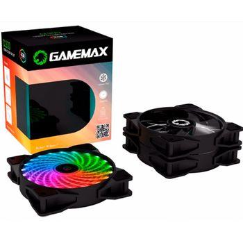 Cooler Gamemax RGB com Controle CL300 Kit com 3 Fans 120MM