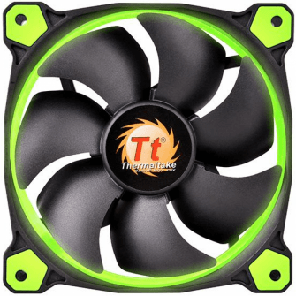 Cooler Thermaltake FAN Riing 14cm Green CL-F039-PL14GR-A