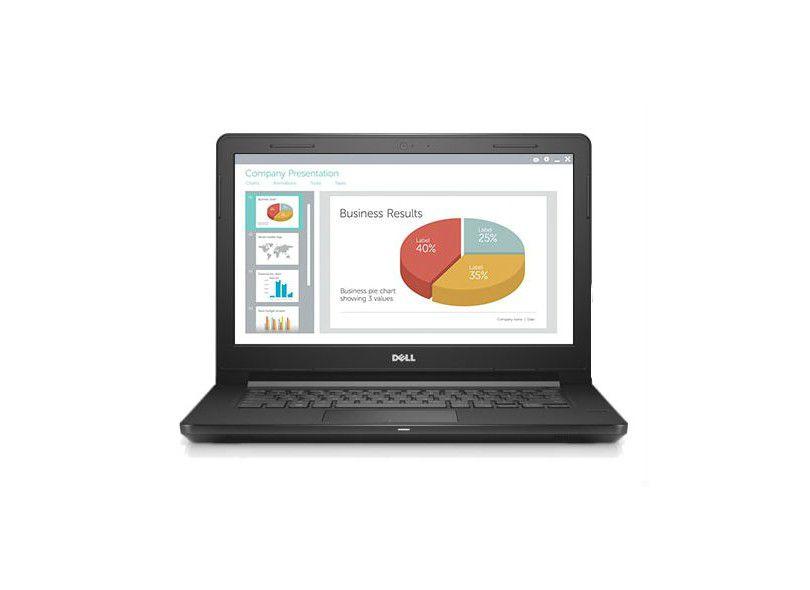 Dell Notebook Vostro 14 3468 Core i3-6006U, 4GB, HD 500, Windows 10 PRO