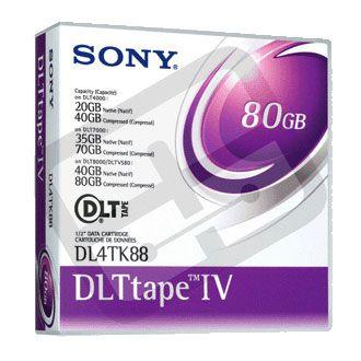 DLT Tape 4 40/80GB - Sony - Dl4tk88