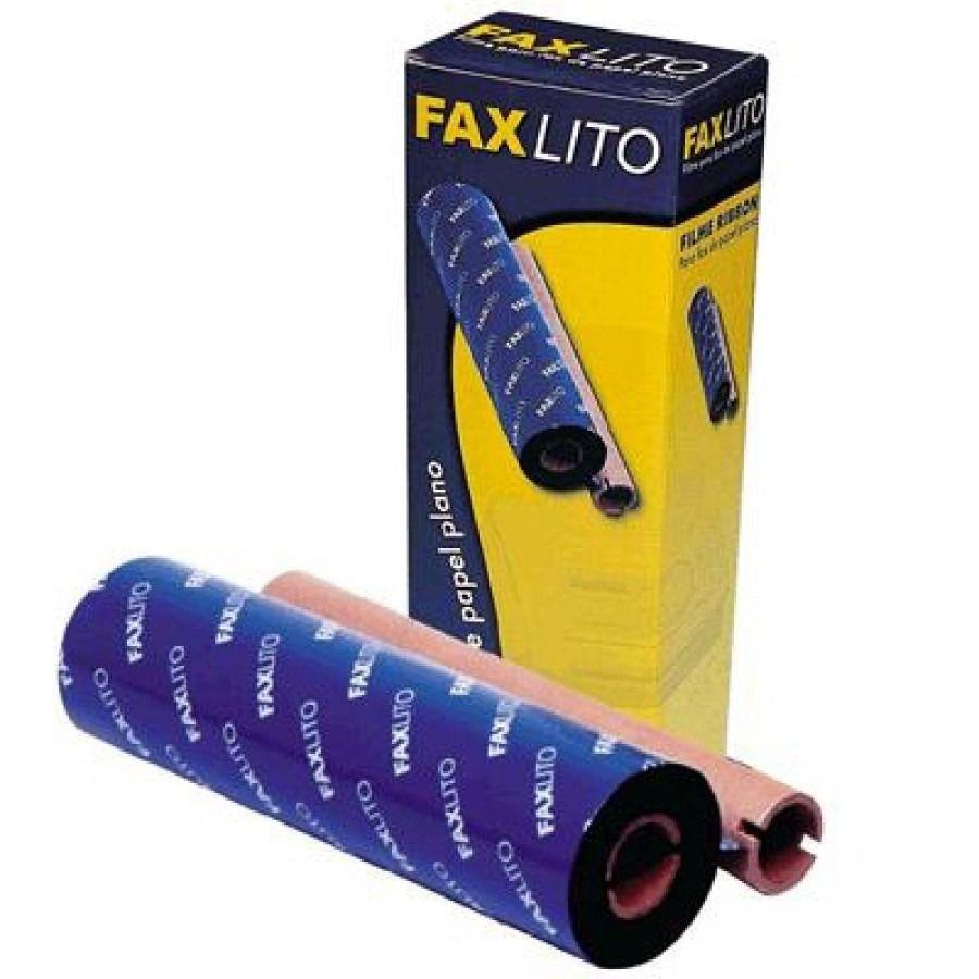 Filme para Fax  de Papel plano Comaptivel KX-FA 136/KX-Fa65 FP01 Faxlito