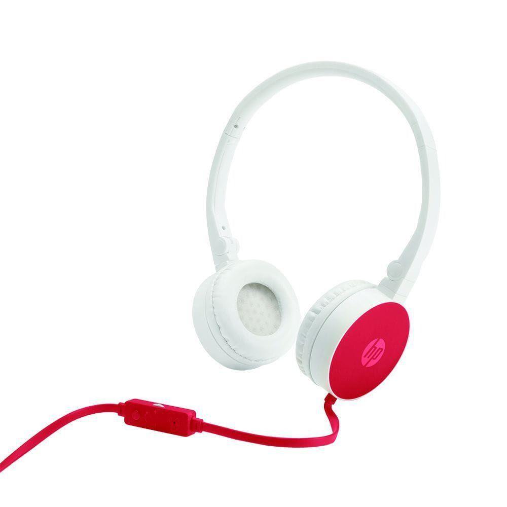 Fone de Ouvido HP Dobravel C/ Microfone H2800 Cardinal RED