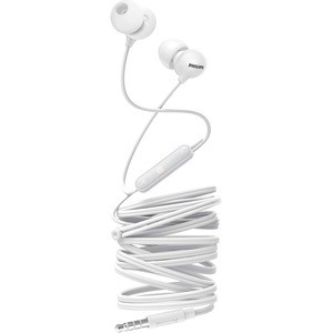Philips FONE PHILIPS UPBEAT INTRA-AURICULAR COM MICROFONE BCO - SHE2405WT/00