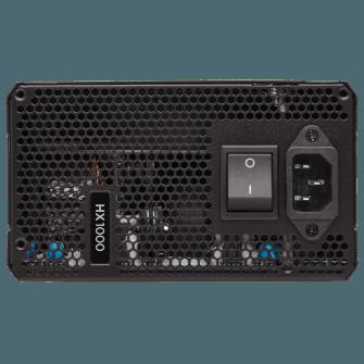 Fonte 1000W Corsair 80 Plus Platinum Modular HX1000 - CP-9020139-WW