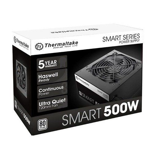 FONTE 500W TT SMART ATX2.3 80+ WHITE PS-SPD-0500NPCWBZ-W - PS-SPD-0500NPCWBZ-W