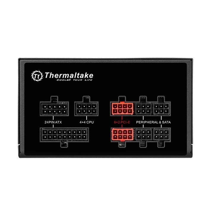 Fonte 750W Thermaltake 80 Plus Gold Full Modular RGB ToughPower - PS-TPG-0750FPCGBZ-R