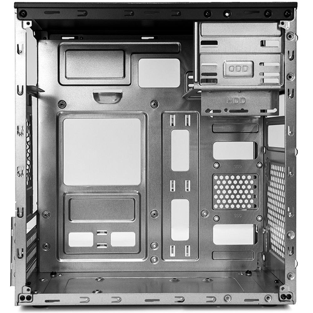 Gabinete C3 Tech Micro-ATX MT-23BK PS-200V3 U2HA C/Fonte 2 baias