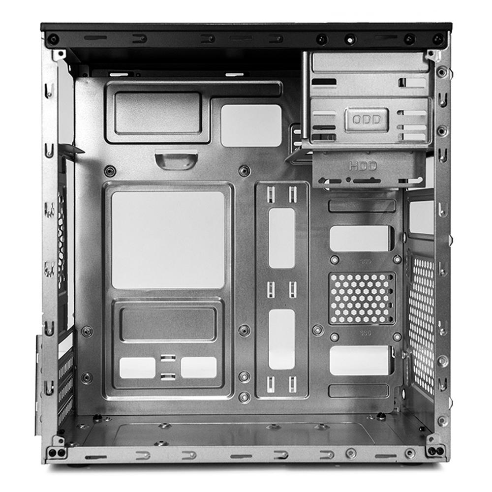 Gabinete C3 Tech Micro-ATX MT-25BK PS-200V3 U2HA C/Fonte 2 baias