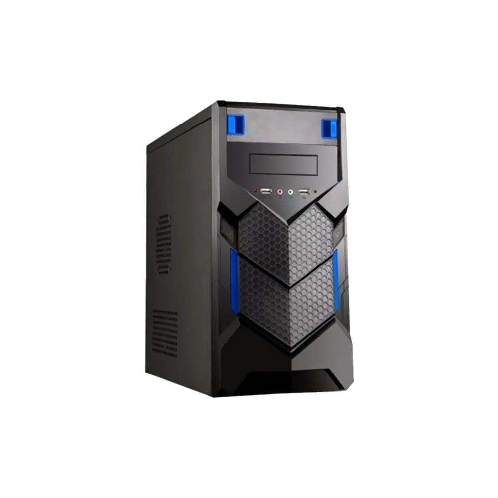 Gabinete Gamer BR-One P015b Blue s/ Fonte