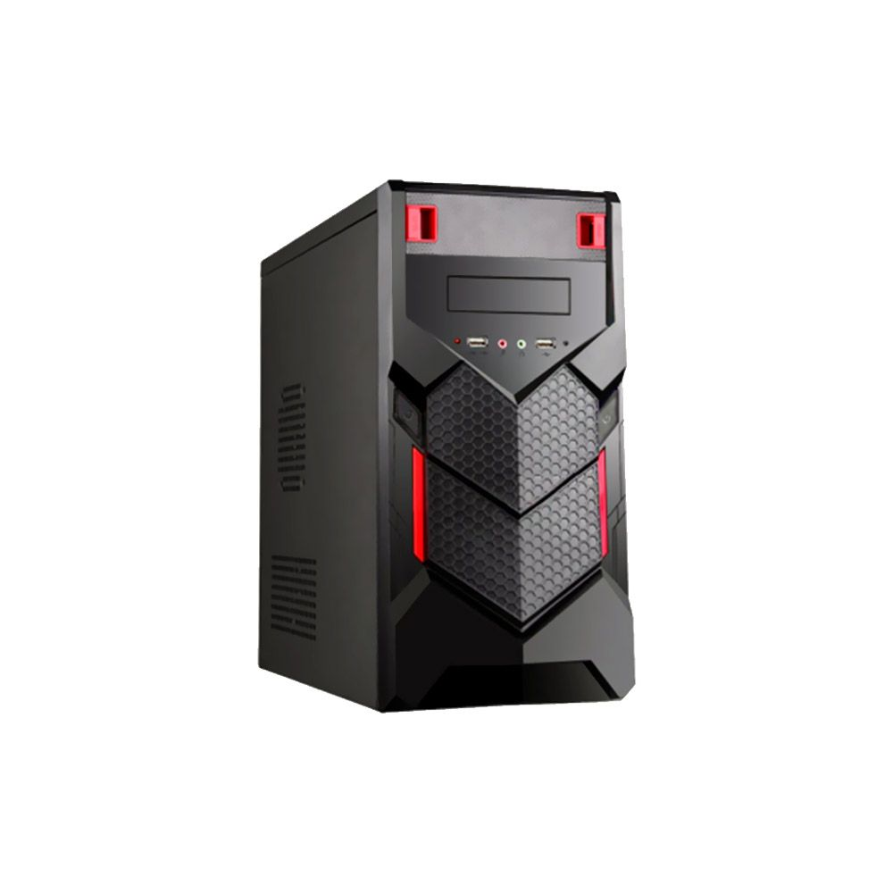 Gabinete Gamer BR-One P015r Red s/ Fonte