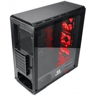 Gabinete Gamer Redragon Grimlock Vidro Temperado RGB RD- GC602