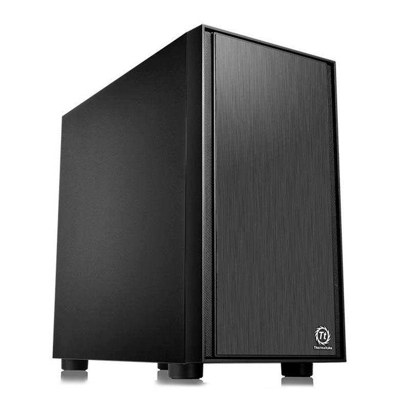 Gabinete Gamer Thermaltake Versa H17 Black A-1J1-00S1NN-00