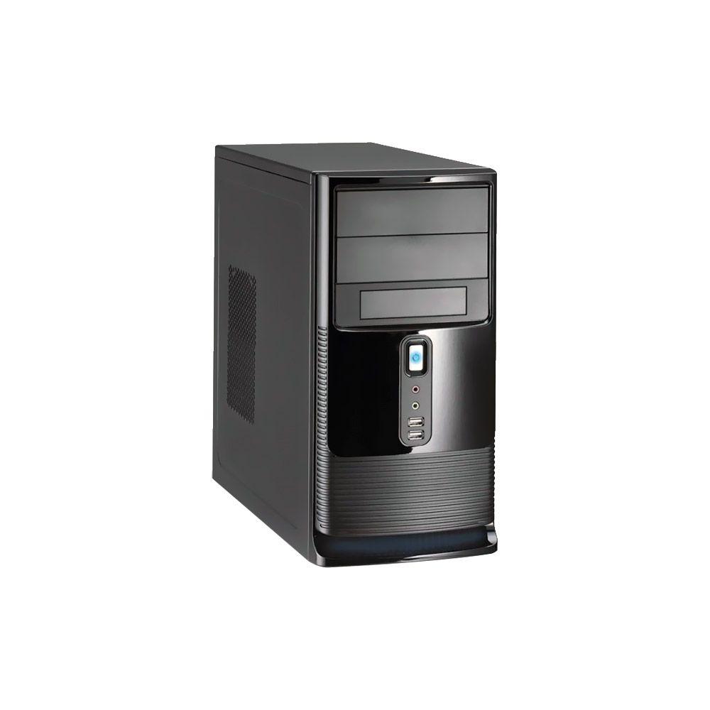 Gabinete K-Mex Micro-ATX CM-9527 C/FTE PX 300W 2 baias