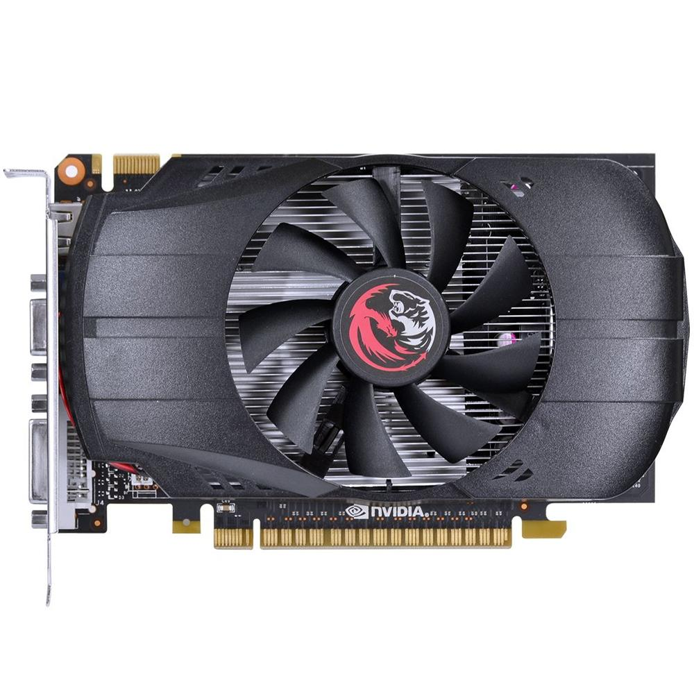 GPU GeForce 4GB GT730 Pcyes DDR5 128 bits Dual Fan PV73012804D5*