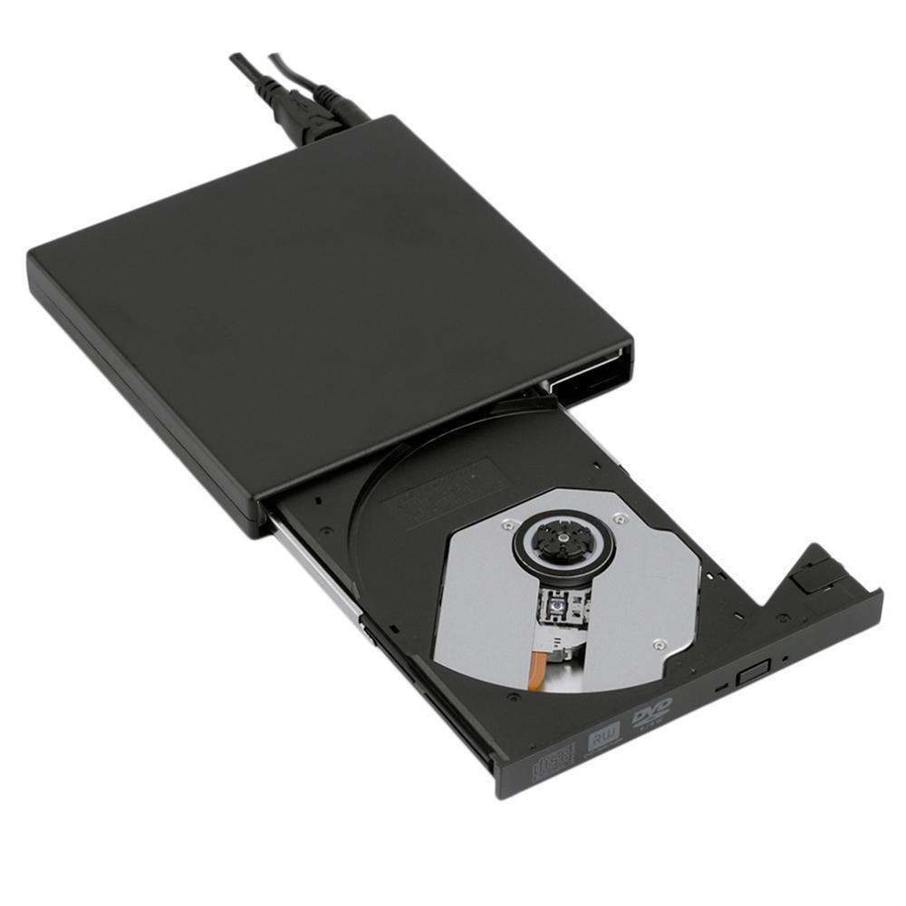 Gravador DVD Bluecase Externo Slim USB 2.0 BGDE-02 Preto