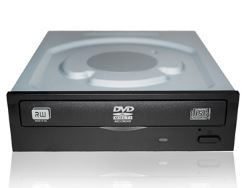 Gravador DVD Faster FS-422 Sata 24x Preto OEM