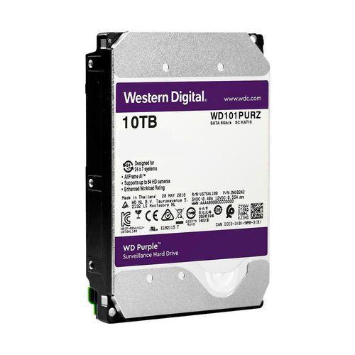 HD 10TB SATA Western Digital Purple Surveillance WD101PURZ